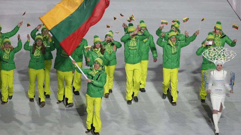 Lietuvos olimpiečių apranga Sočio olimpiadoje